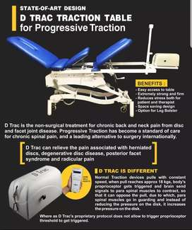 Physiotherapy equipment, D trac progressive traction tabel