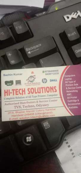 Computer , laptop and printer service engineer
