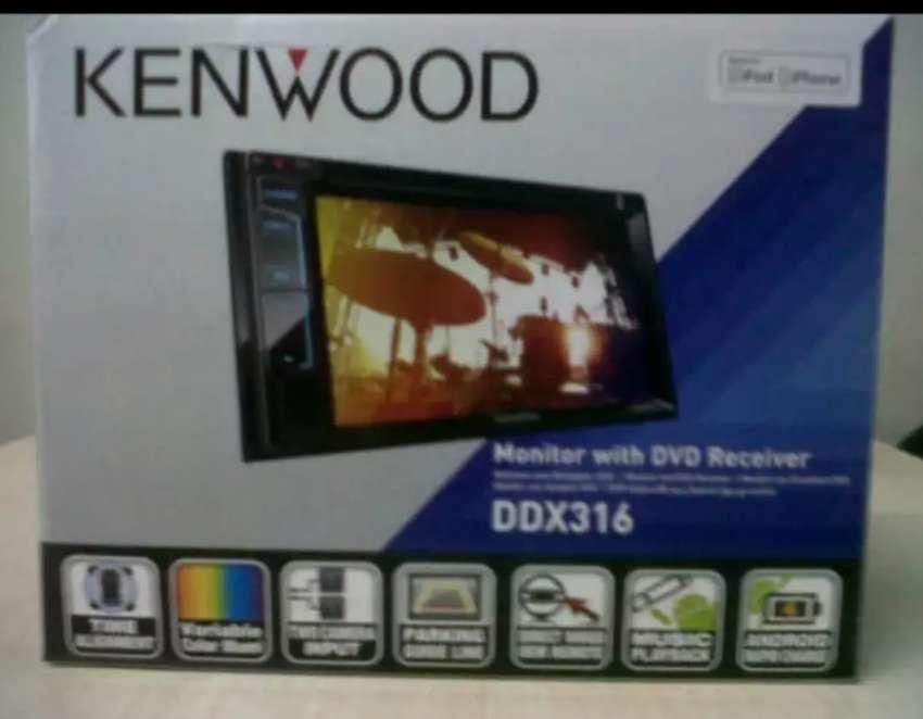 Tape Mobil Kenwood Double Din DDX 316 0