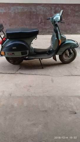 LML Vespa NV Spl Scooter in a very nice condition