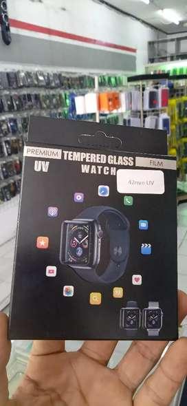 Tempered glass Apple watch UV 42mm gratis pemasangan