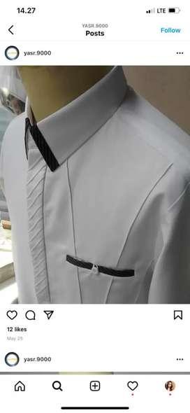 Baju kemeja mewah trendy, murah, elegan, bahan adem