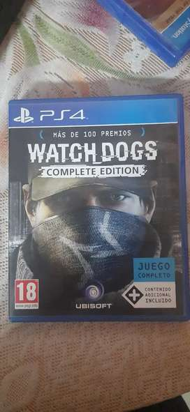 PS4 Watchdogs Complete edition (limited)