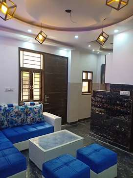 3bhk L-TYPE fully furnished flat at 28 lacs with car parking bank loan