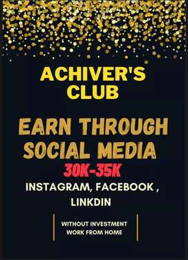 Earn through social media, Work from home