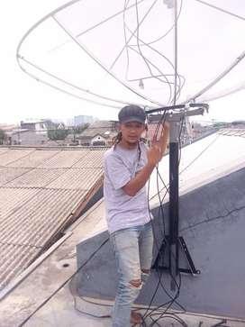 Ahli Pasang service Parabola Murah Lengkap Larangan Selatan Tangerang