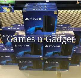 ps4 pro available with all accessories and games for cheaper price .