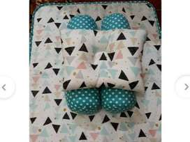 Matras Bayi / Set Kasur Bayi / Baby Murah Lucu / Tempat Tidur Bayi - S