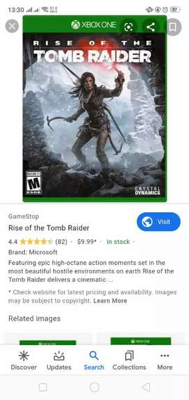 Xbox one games rise of tomb raider
