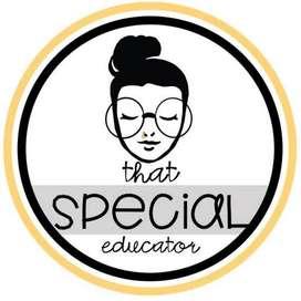 I am a special educator. Provide home tution