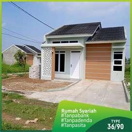 Rumah syariah sukabumi DP 50Jt di caringin cikukulu | BIC