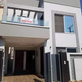5MARLA House Brand new FOR SALE DHA Rahber