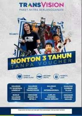 Pasang parabola jernih murah spesial Bandar Lampung Transvision HD