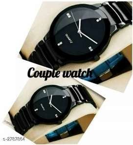 Trendy couple watches