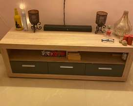 Tv unit 1 year old