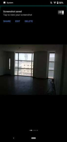 Office for rent 4th floor with lift tiled flooring main k.h.y bukhari