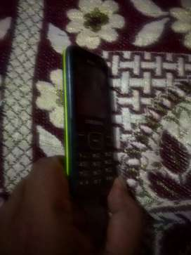 Samsung mobile with good condition for calling