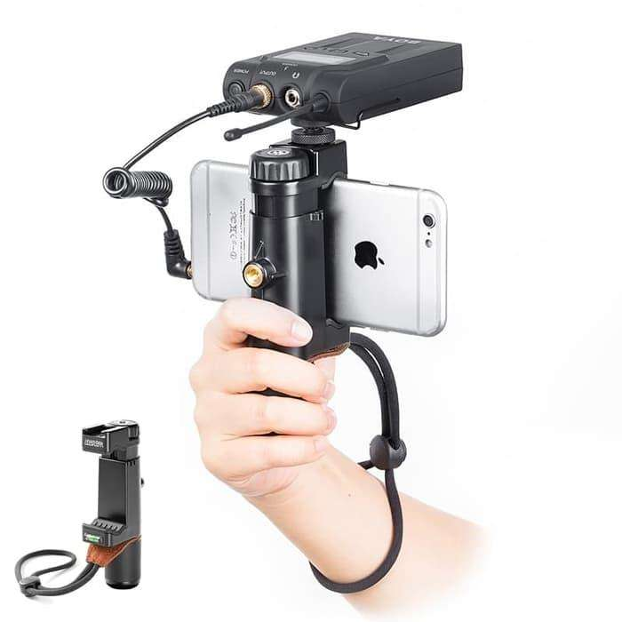 Holder Vlog Video Ulanzi F-Mount Rig Smartphone Hp With Cold Shoe 0