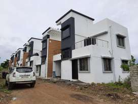 3BHK Row House @51Lacs(all inc.) in Lohegaon, Pune