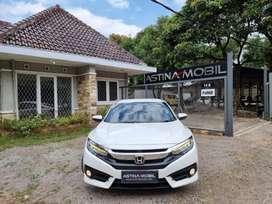 Honda Civic 1.5 ES Turbo CVT Matic 2018 Putih 2019 ASTINA MOBIL