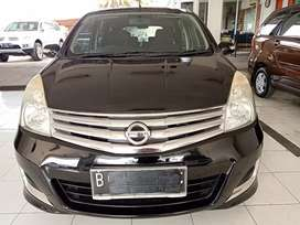 Nissan grand Livina XV at 2013 Hitam DP murah