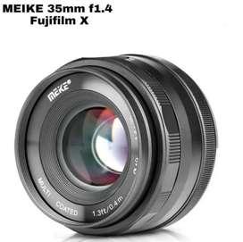Lensa Fix Manual Meike 35mm f1.4 for fuji