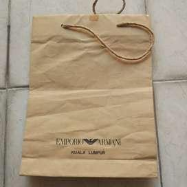 Paperbag emporio armani original