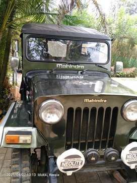 Mahindra Jeep 1999 Diesel Good Condition