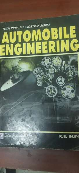 Automobile Engineering by R.B Gupta