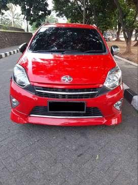 Toyota Agya trd 2015 matic merah