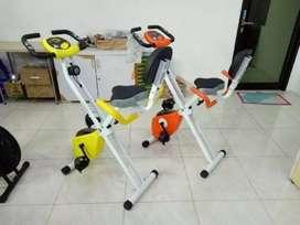 Xcider bike alat olahraga with sandaran baru