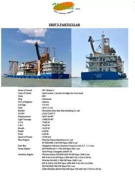 Kapal Sedot Pasir / Suction Dredger