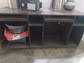 3 Wooden big counter/computer table for sell