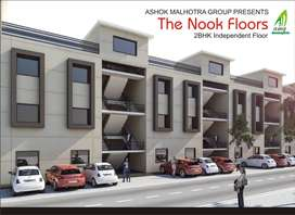 Ready possession 2 BHK Second Floor built up on 86 Sq Yard plot