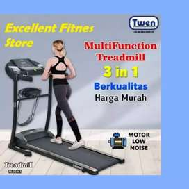 treadmill elektrik twen TM -749 II sepeda statis