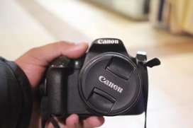 Canon 1200 d with 18 55 mm lens ( lush condition)