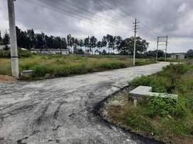 40.60 site sale brahmin layout near ring road srirampura unvarcity lay