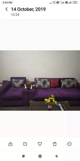 Sofa without tea table