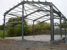 Industrial Prefabricated Light Steel Structure Shed Design