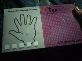 gloves sarung tangan medis textgrip kemenkes