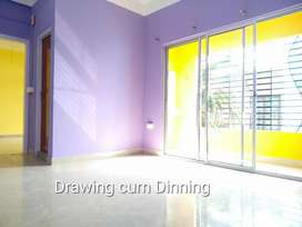 Independent 1 Bhk brand new house for rent in Six-Mile.