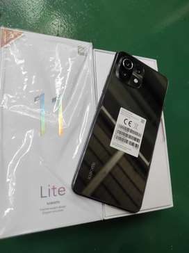 Xiaomi mi 11 lite 8/128 like new 2 bln pakai
