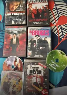 8 imported DVDs