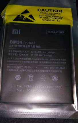 Jual Battery Xiaomi MI Note / BM34 Best Quality
