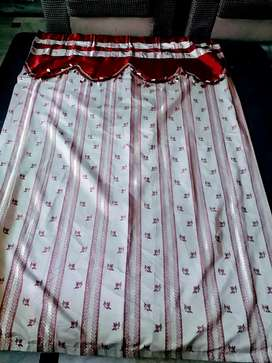 4 curtains available