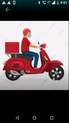 Urgently required for delivery job