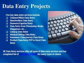 Required expert data entry operator in all aspects of computer.