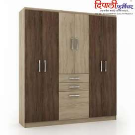 Latest designs wardrobe actual available at showroom
