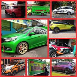 Stiker Wrapping Mobil Branding Cutting Sticker Striping