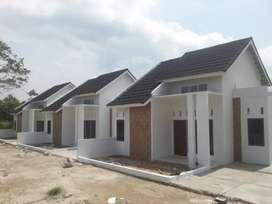 Rumah minimalis Islami (perumahan cluster)
